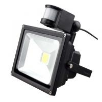 PIR sensor LED Flood Light  20W EPISTAR for Entrance / Walkway / Lobby