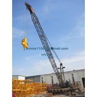 Wholesale Customized QD1840 Derrick Tower Crane 10tons Capacity for Building 150M high from china suppliers