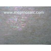 Buy cheap Yellow Coarse grained korean abalone shell laminate from wholesalers