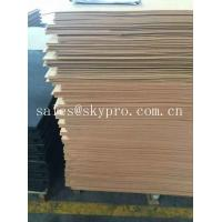 Wholesale Raw Material Nature Shoe Sole Rubber Sheet With Hardness For Shoes Making from china suppliers