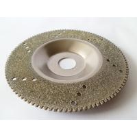Wholesale Wholesale 4 Inch Electroplated Diamond Cutting Blades For Glass / Marble / Granite from china suppliers