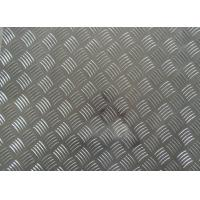 Wholesale 1060 1100 3003 Aluminum Checker Plate , 0.8mm- - 10mm Thickness Embossed Aluminum Sheet from china suppliers