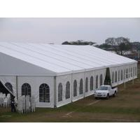 China Easy Set up marquee tent 20x30 m wedding tent,  white color with linings for 500 people on sale