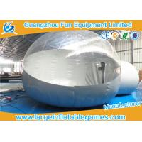 Wholesale Outdoor Christmas Inflatable Snow Globe With Blowing Snow , CE Certification from china suppliers