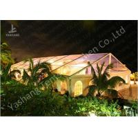 Wholesale Transparent PVC Fabric Cover Luxury Wedding Tents Buildings With Aluminum Profile from china suppliers