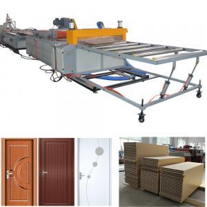 China PVC WPC door production line WPC wood plastic composite door machine on sale