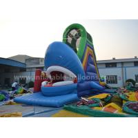 Wholesale Ocean Theme Inflatable Bouncer Slide Giant Whale Shaped With Bouncy 8M from china suppliers