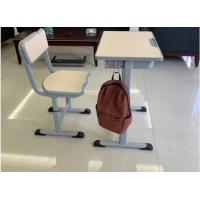 Wholesale Cold Rolled Steel Student Desk And Chair Set Commercial Furniture Eco - Friendly Material from china suppliers