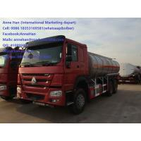 Wholesale SINOTRUK HOWO A7 OIL TANK / Liquid Tanker Truck 25000L With PTO Pump Spray Equipment from china suppliers