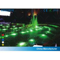 Quality Tempered / Toughened Glass Alloy Copper Plating Nickel Connection Joint LED Underwater Lighting for sale