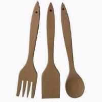 Wholesale Wooden Cooking Tool Set, Measures 30 x 6 x 0.8cm, SGS and LFGB Certified from china suppliers