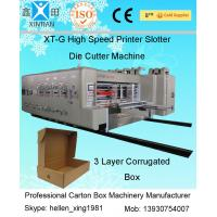 Wholesale High Speed Automatic Carton Machine Of Printing , Dynamic Balance Machine from china suppliers