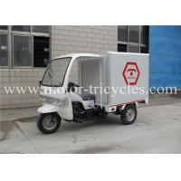 Wholesale Three Wheel Closed Box Cargo Tricycle Motorcycles Air Cooled 4 Stroke Engine from china suppliers