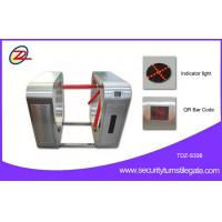 Wholesale QR Code Entrance Tripod Turnstile Mechanism RFID Card Reader pedestrian barrier gate from china suppliers