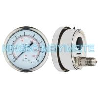 Wholesale Stainless Steel Material Welding Oil Filled Pressure Gauge Matte / Polish from china suppliers
