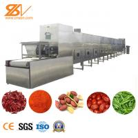 China SS Spice Pepper Microwave Vacuum Drying In The Food Processing Industry on sale