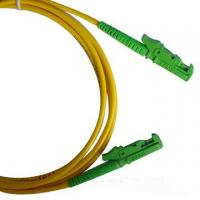 Wholesale LSZH 3.0mm cable diameter Single-mode low insertion loss E2000 Fiber Optic Patch Cord from china suppliers