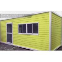 Wholesale Expandable Prefab Container House with Steel Sheet Roof and EPS Sandwich Wall 50mm from china suppliers