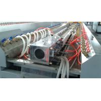 Wholesale Windows Doors PVC Profile Extrusion Machine , Double Screw Extruder from china suppliers