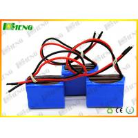 Wholesale 22.2V 3000Mah Rechargeable Lithium Ion Battery Type 18650 6S1P from china suppliers