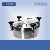 Wholesale DONJOY 300mm Round manhole Cover With Pressure Welded To The Tank from china suppliers