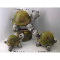 Wholesale Different Size Turtle Terracotta Garden Ornaments In Simple Color from china suppliers