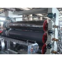 Buy cheap PP PE PVC Sheet Five Rolls Calendering PVC Extruder Production Line from wholesalers