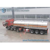 Wholesale Ammonium Mitrate Oxidatioin Fuel Tank Trailer , 28000L 3 Axle Stainless Steel Tanker Trailers from china suppliers