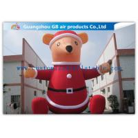 Wholesale Giant Xmas Outdoor Inflatable Holiday Decorations Cartoon Models For Merry Christmas from china suppliers