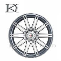 Wholesale Chrome Rims Black SUV Wheels Aluminum 16 X 8 Inch Three Pieces from china suppliers