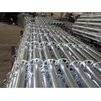 Buy cheap Ringlock  Scaffold Standard with hot-dip galvanized  For Outdoor Repairing from wholesalers