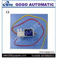 Wholesale 2mm Port 3 Way Miniature Solenoid Air Valve Lead Wring Type DC 6V 12V 24V Rated Voltage from china suppliers
