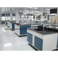Wholesale General Size L3000*1500*850mm Steel Lab Bench Single / Double Drip Rack Type from china suppliers
