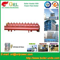 Wholesale Industrial Steam CFB Boiler Header / Low Loss Headers Low Pressure from china suppliers