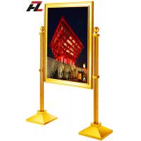 Wholesale British Style Stainless Steel Advertisement Display Stands-Poster Display from china suppliers
