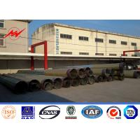 Wholesale 10KV ~ 500KV HDG Electric Steel Tubular Pole for Power Transmission Line from china suppliers