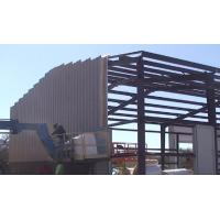 China Anti Rust Paint Prefab Steel Warehouse Metal Frame Structure Large Size ISO9001 on sale