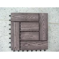 Quality Wood Plastic Composite Flooring for sale