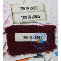 Wholesale Hot melting school uniform name tag iron on label for Epson C3500 C7500 inkjet printer from china suppliers