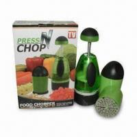 Wholesale Press N Chop Food Choppers, Made of Stainless Steel, Easy to Clean by Water from china suppliers