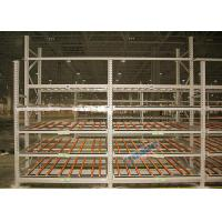 Wholesale Clear Visibility Pallet Carton Flow Rack SKUs Rotate Automatically For Logistic Distribution Centers from china suppliers
