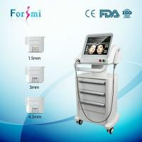 Wholesale 10,000 shots chin lift without surgery non surgical facelift machines focused ultrasound machine for sale from china suppliers