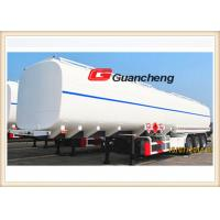 Wholesale Independent Stamping Steel Rigid Suspension Fuel Tanker Trailer , Fuel Tanker Semi Trailer from china suppliers