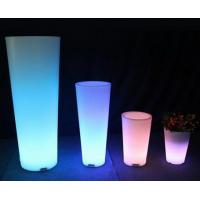 Wholesale led flower pot by rotomoulding,rotational moulding from china suppliers