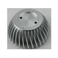 Wholesale Anodized CNC Aluminium Parts , LED Bulb Light Stamped / Extruded Heat Sink from china suppliers