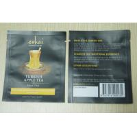 Wholesale 10g Small Packaging Tea Bags / Instant Matt Finish Tea Pouch In Black from china suppliers