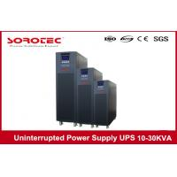 Wholesale 10KVA 9KW High Frequency Online Uninterrupted Power Supply , desktop 3 Phase UPS from china suppliers