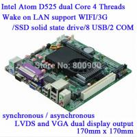 Wholesale M58-D52 Atom D525 Industrial MINI ITX Motherboard With SIM Slot from china suppliers