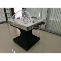 Wholesale Professional Rod Hockey Table 5mm Acrylic Dome Hockey Table With Silver Plastic Corner from china suppliers