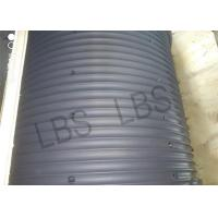 Quality Large Scale Black Nylon Drum Sleeves And Drum Shells For Winch GJB ISO Listed for sale